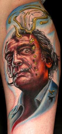 Tattoos - Dal� tattoo - 36428