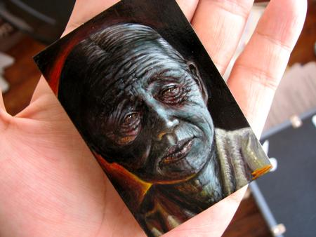 Tattoos - Pint Size Painting by Stefano - 61107