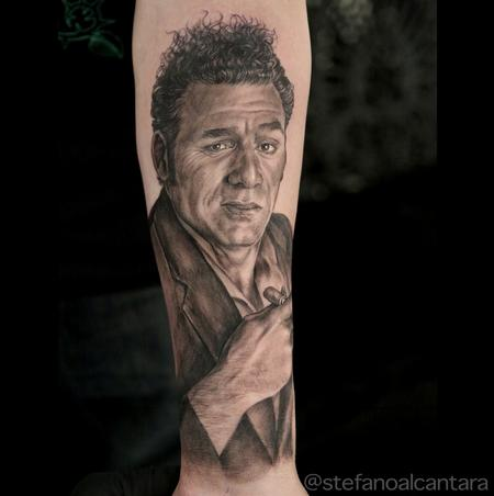 Kramer portrait tattoo