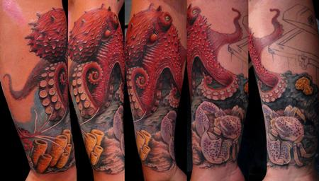 Tattoos - Octopus  - 61019