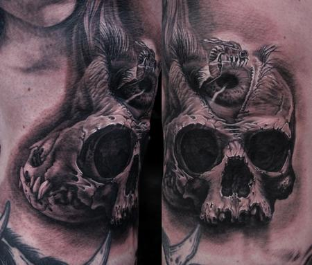 Tattoos - Eye Skull - 62150