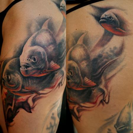 FreeHand Piranhas Leg Sleeve