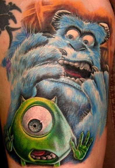 Tattoos - Monsters inc tattoo - 50808