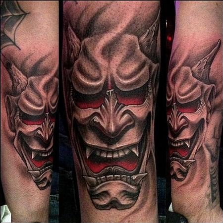 Tattoos - Hannya Mask Tattoo - 65495