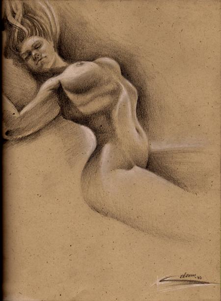 Stefano Alcantara - Woman Sketch