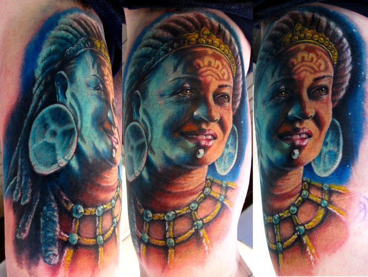 Tattoos - Mayan Mother - 50807