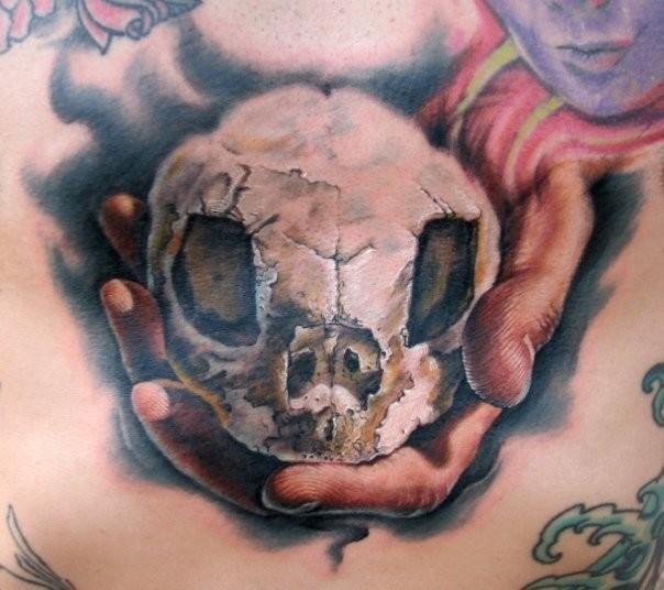 Tattoos - Skull tattoo - 50806