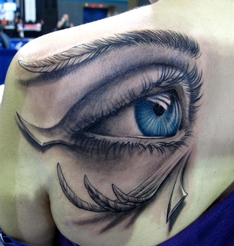 Orus eye by stefano alcantara tattoonow for Eye tattoo art