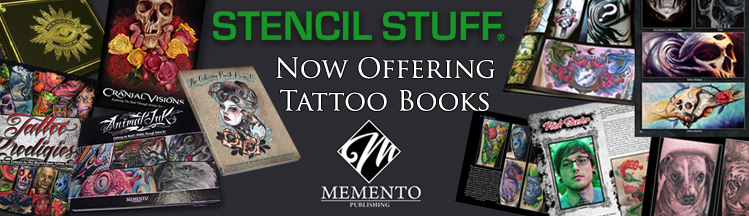 Stencil Stuff Memento Publishing Tattoo Books