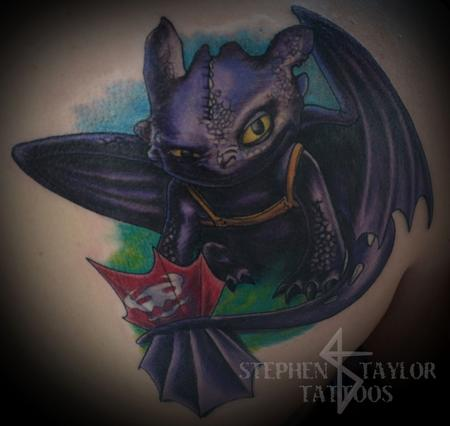Tattoos - toothless - 108249
