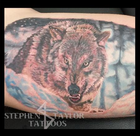 Wolf Tattoo Design Thumbnail