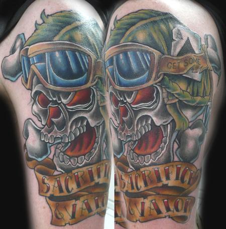Tattoos - Skull Tattoo - 66737