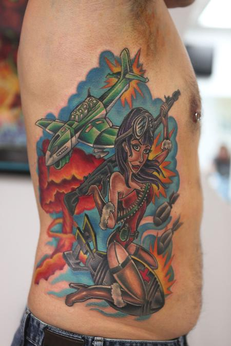 Tattoos - Pinup Tattoo - 66738