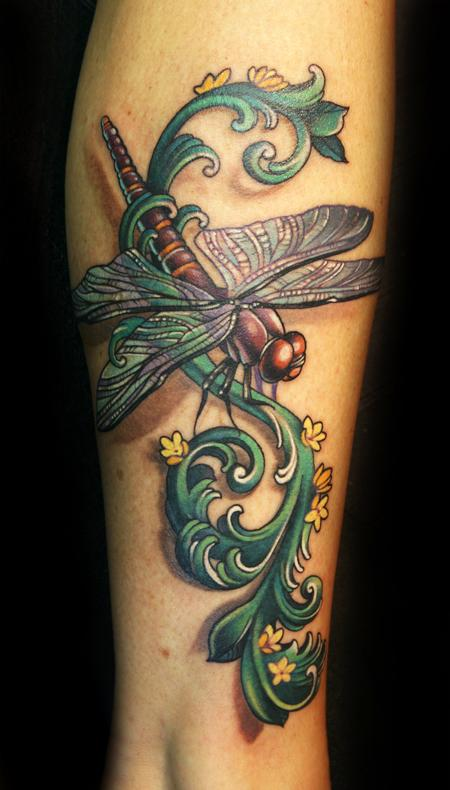 Teresa Sharpe - Dragonfly