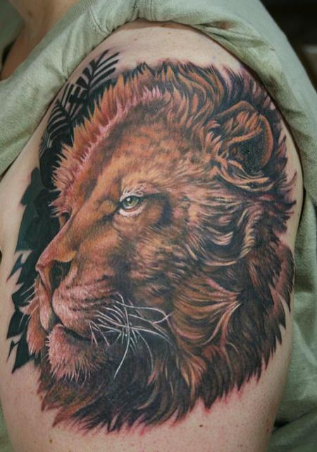 Lion Tattoo Tattoo Design Thumbnail