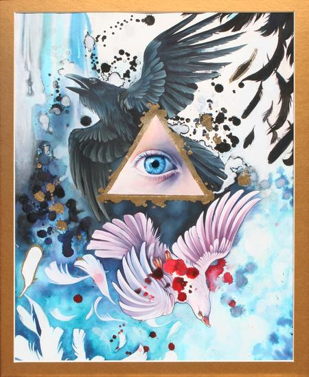Teresa Sharpe - All Seeing Eye: untitled 1