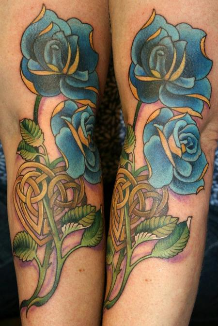 Teresa Sharpe - Celtic Blue Roses