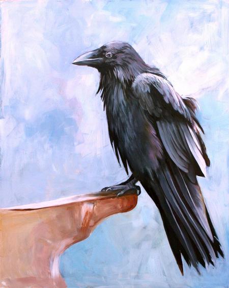 Teresa Sharpe - Raven Study