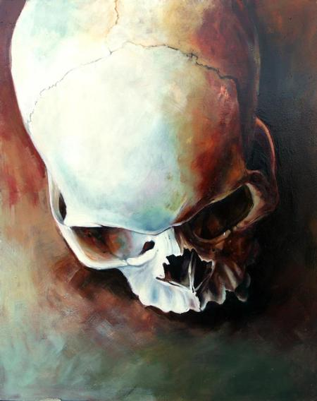 Teresa Sharpe - Skull Study #2