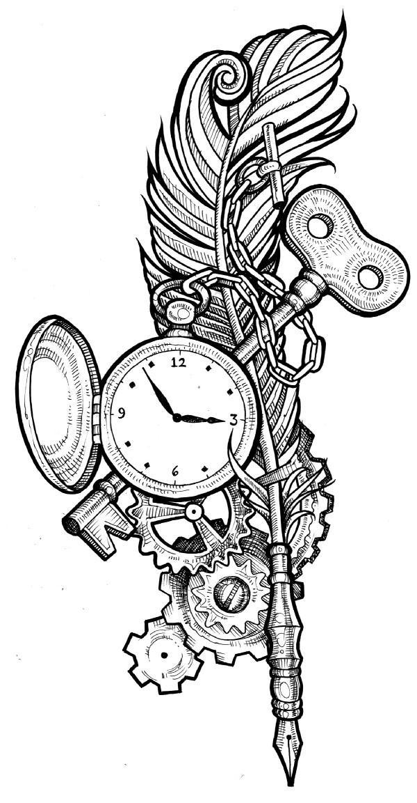 Key Tattoo Ideas besides Art Time B3EqpdyuAfwmA likewise Ste unk Clock And Key Tattoo 143376929 together with Index moreover Ideas. on gears and cogs drawings