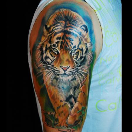 Tattoos - growl - 116361