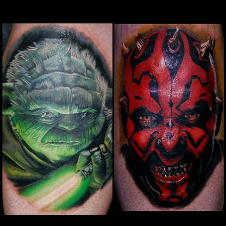 Yoda and darth maul Design Thumbnail