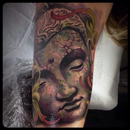 Tattoos - Buddha Tattoo - 110135