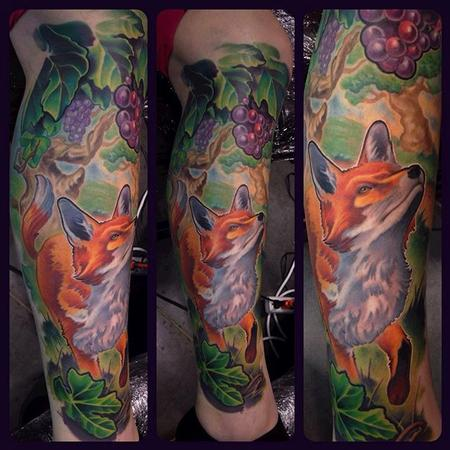 Tattoos - Aesop's fables Tattoo - 110134