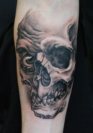 Skull Tattoos on Paradise Tattoo Gathering   Tattoos   Shane Oneill   Skull Tattoo