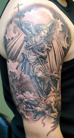 Religious Tattoos on Tattoo Inspiration   Worlds Best Tattoos   Tattoos   Religious Angel