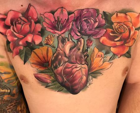 Damon Conklin - Damon Conklin Floral Heart