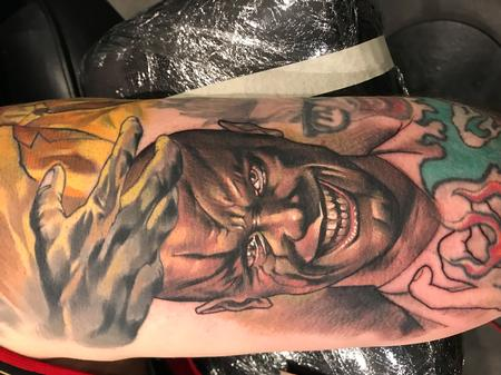 Tattoos - Damon Conklin Villainous Character Portrait  - 131211