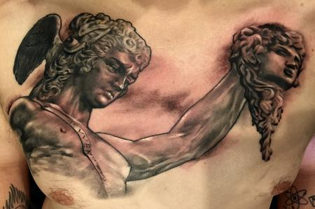 Tattoos - Damon Conklin Classic Statue  - 131212