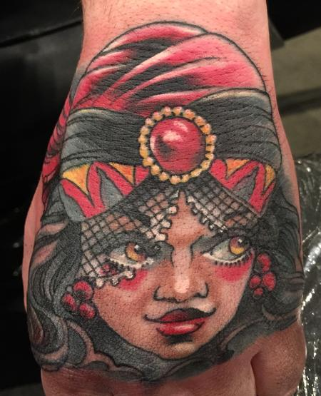 Tattoos - Damon Conklin Gypsy - 131227