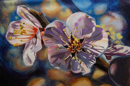 Damon Conklin - Flowers Painting