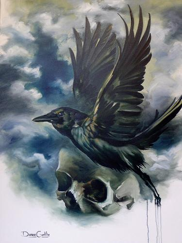 Damon Conklin - Raven and Skull