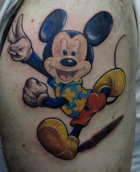 mickey mouse tattoos. V Tattoos? mickey mouse