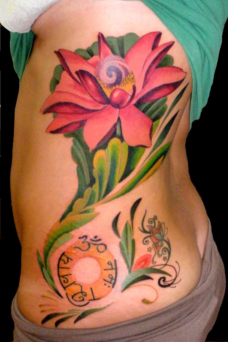 Lotus flower by trevor kennedy sweet trade tattoo lotus flower by trevor kennedy izmirmasajfo