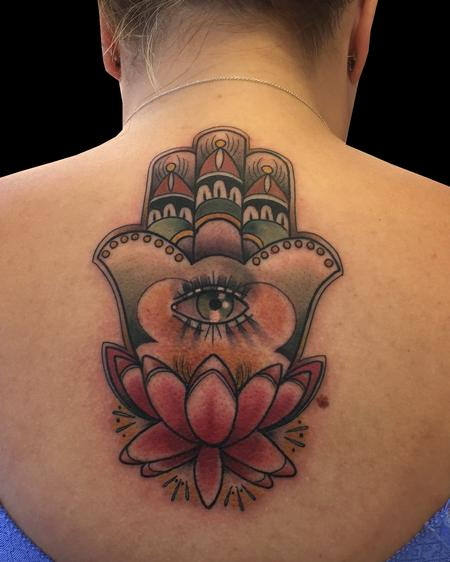 Monica Painter--Guest Artist - Hamsa & Lotus
