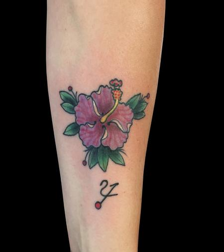 Tattoos - Hibiscus 2014 - 100191