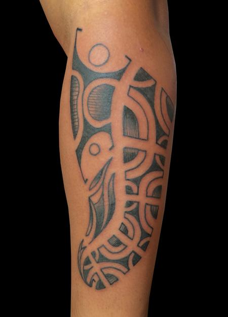 Tattoos - Polynesian Body Armor - 96405