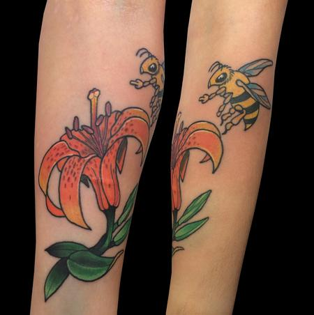 Adam Considine - Lilly with Badass Bee