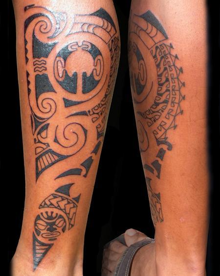 Tattoos - Polynesian - 98007
