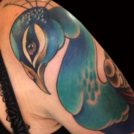 Monica Painter--Guest Artist - Peacock