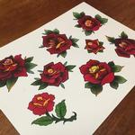 Tattoos - Rose Flash - 101433