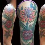 Tattoos - Flower Half-Sleeve - 112012