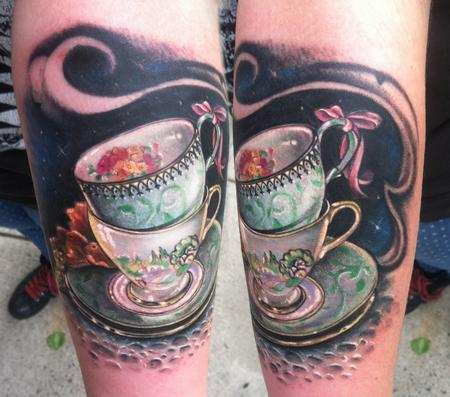 teacup Tattoo Design Thumbnail