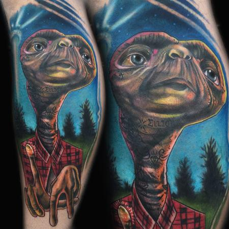 cholo e.t Tattoo Design Thumbnail