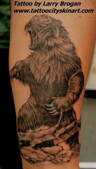 Tattoos Fine Line tattoos Cute little teddy bear