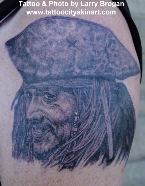 Larry Brogan - Captain Jack Sparrow